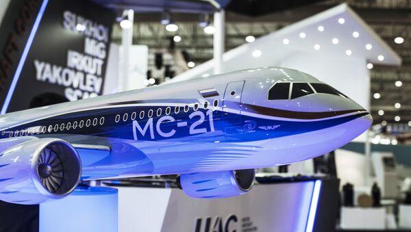 Prvi ruski putnički avion MS-21 biće predstavljen na proleće - Sputnik Srbija