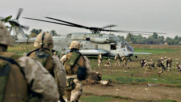 Američki marinci u Iraku - Sputnik Srbija