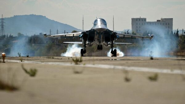 Ruski avion Su-34 u Siriji - Sputnik Srbija
