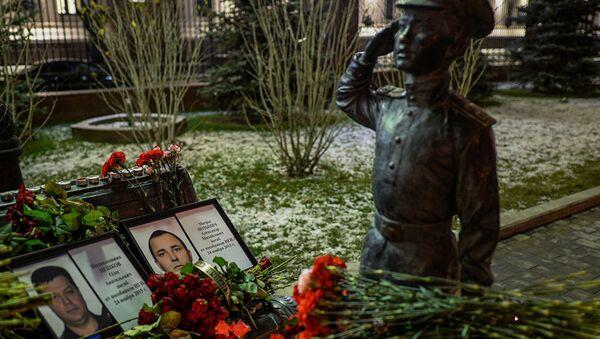 Ruski piloti, poginuli u ruskoj vojnoj operaciji u Siriji. - Sputnik Srbija