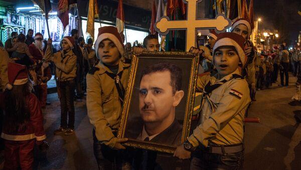 Обележавање Божића у Дамаску - Sputnik Србија