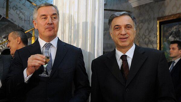 Мило Ђукановић и Филип Вујановић - Sputnik Србија