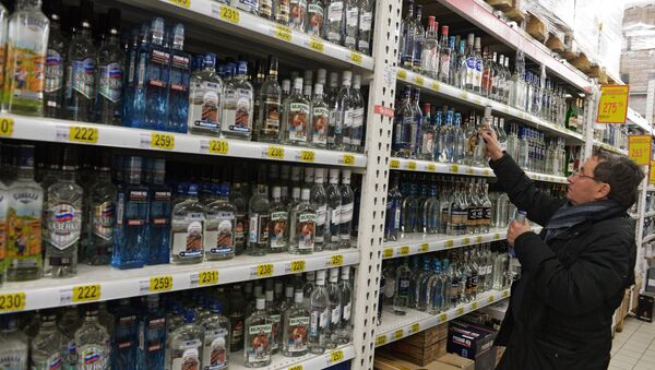 Novogodišnja prodaja prehrambenih proizvoda - Sputnik Srbija