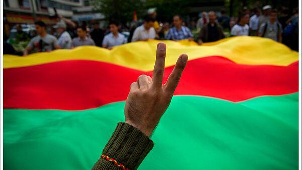 Kurdski protestanti - Sputnik Srbija