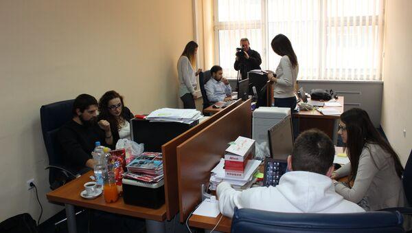 Kancelarija Studenti za istinu - Sputnik Srbija