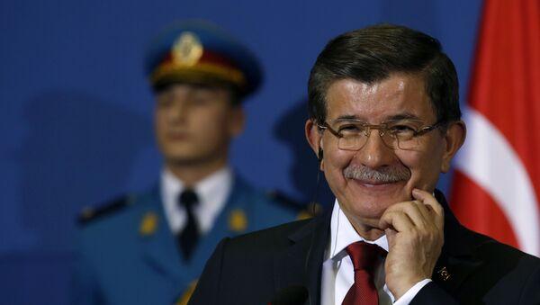 Premijer Turske Ahmet Davutoglu - Sputnik Srbija