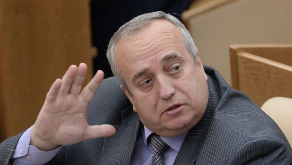 Predsednik komiteta Saveta Federacije za odbranu  Franc Klincevič - Sputnik Srbija