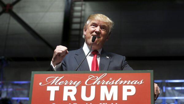 Američki predsednikčki kandida Donald Tramp - Sputnik Srbija