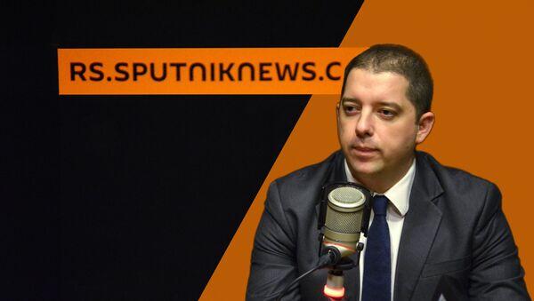 Директор Канцеларије за КиМ Марко Ђурић - Sputnik Србија