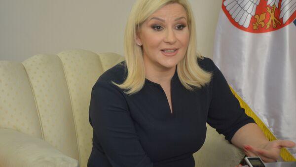 Заменик премијера и министар грађевинарства, промета и инфраструктуре Зорана Михајловић - Sputnik Србија