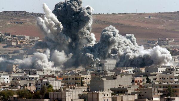 Bombardovanje u Siriji - Sputnik Srbija