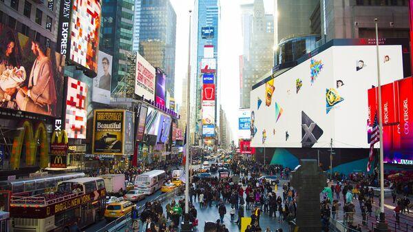 Тајмс сквер, Њујорк - Sputnik Србија