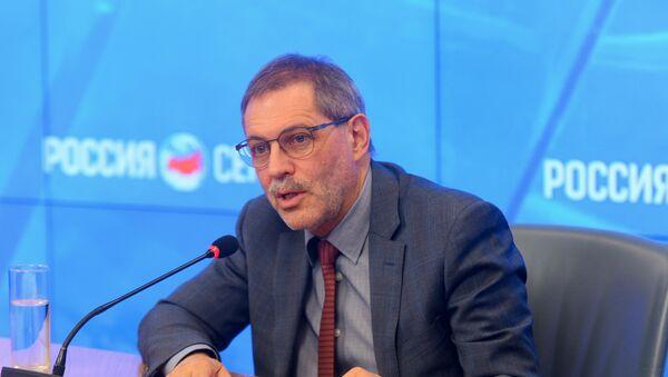 Прес-секретар Михаил Леонијев - Sputnik Србија