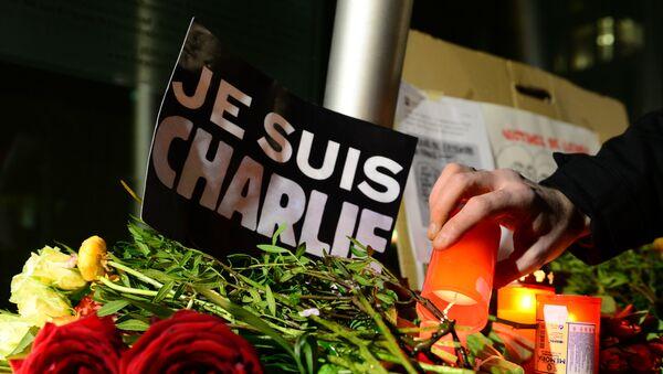 Teroristički napad na časopis Šarli ebdo u Parizu 07.01. 2015. godine - Sputnik Srbija