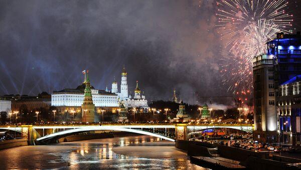 Ватромет у Москви - Sputnik Србија