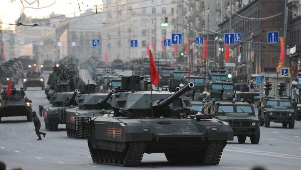 Tank T-14 na platformi Armata - Sputnik Srbija