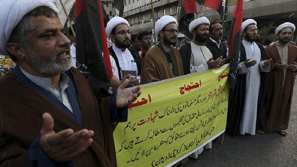 Иран, запаљен конзулат Саудијске Арабије - Sputnik Србија