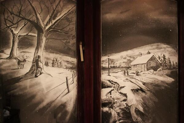 Снежни прозори: Ваша лична зимска земља чуда - Sputnik Србија