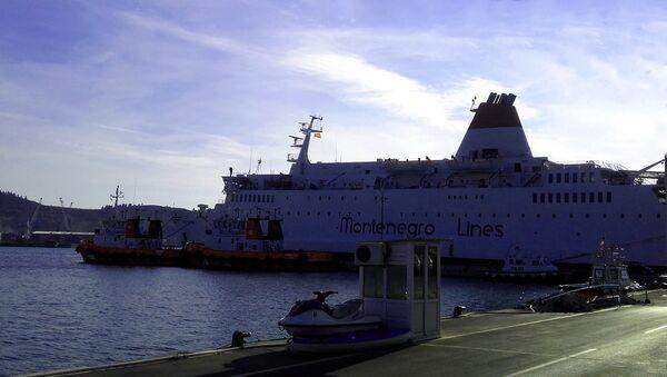 Brod u Luci Bar, Crna Gora - Sputnik Srbija