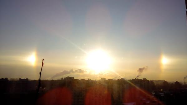 Сунце изнад Санкт Петербурга - Sputnik Србија