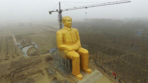 Mao Ce Tung, džinovska figura, Kina - Sputnik Srbija