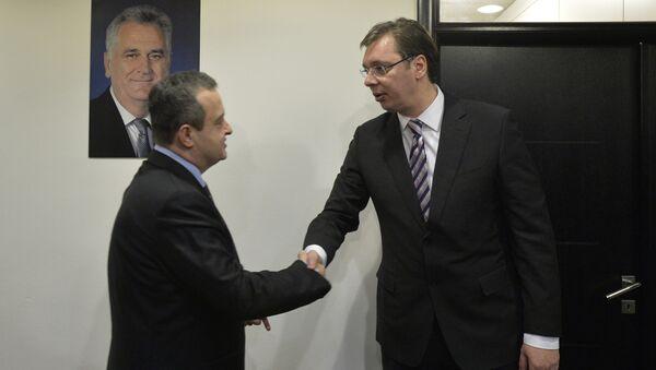 Ivica Dačić i Aleksandar Vučić - Sputnik Srbija