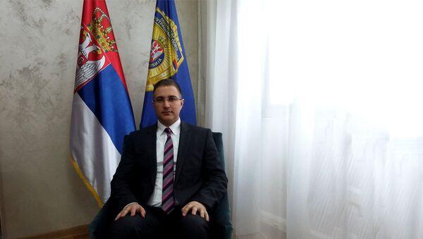 Министар унутрашњих послова Небојша Стефановић - Sputnik Србија