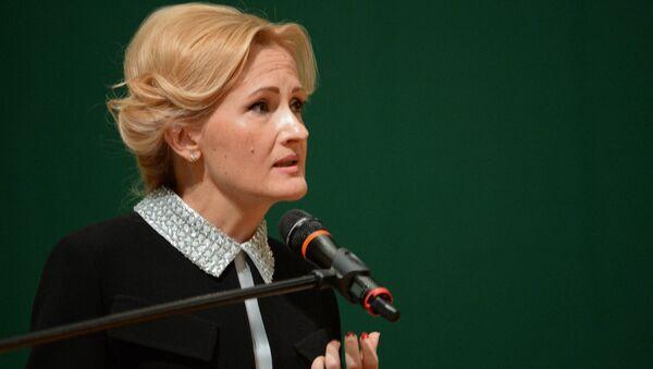 Predsednica Komiteta Državne dume Rusije Irina Jarovaja - Sputnik Srbija