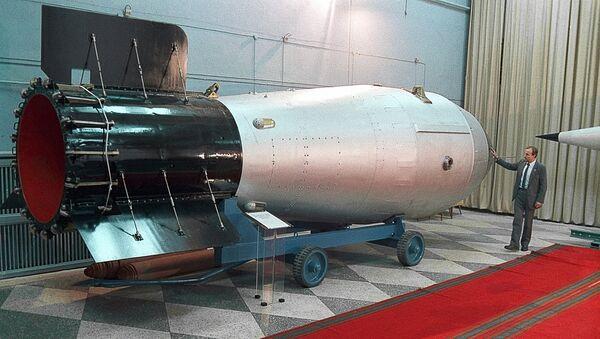 Хидрогенска бомба, водонична, Х-бомба или термонуклеарна бомба ј - Sputnik Србија