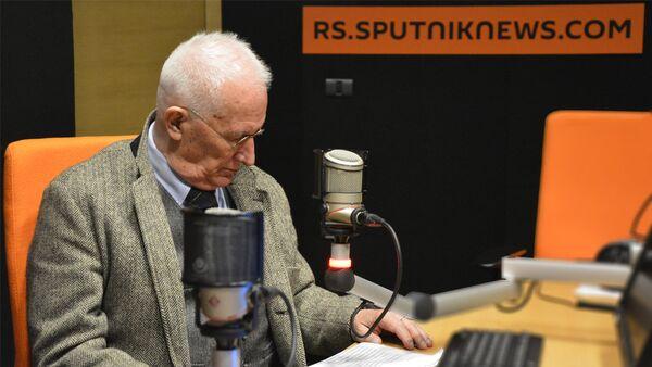 Akademik Matija Bećković - naslovna za 1. deo - Sputnik Srbija