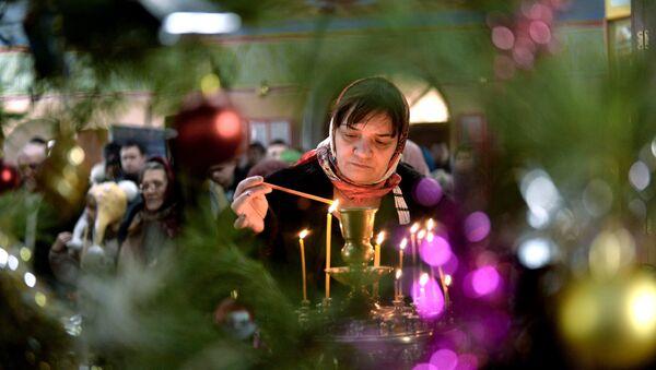 Proslava Božića u gradovima Rusije - Sputnik Srbija