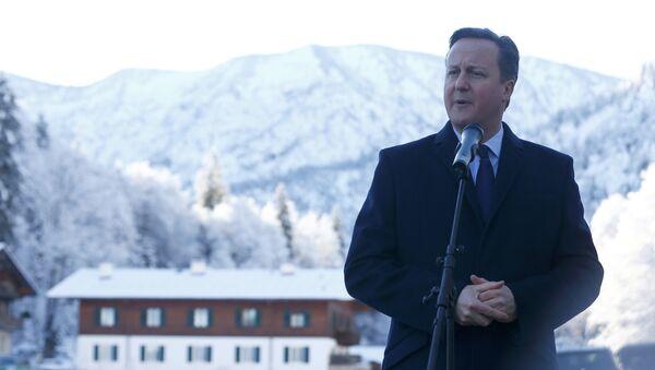 Британски премијер Дејвид Камерон у Баварској - Sputnik Србија