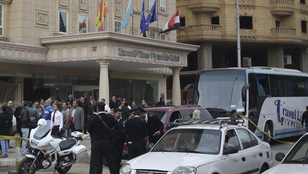 Napad na izraelski turistički autobus u Egiptu - Sputnik Srbija