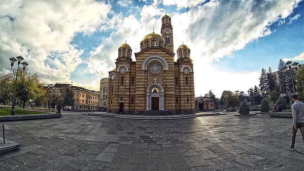 Храм Светог Илије, Бањалука, Република Српска - Sputnik Србија