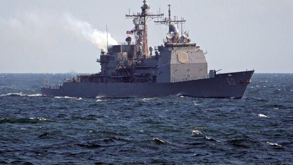 Међународне војно-поморске вежбе Фрукус 2012, америчка флота - Sputnik Србија