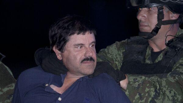 Hapšenje meksičkog mafijaša Hoakina el Čapa Gusmana - Sputnik Srbija