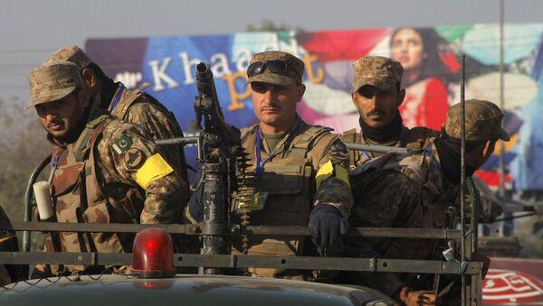 Pripadnici pakistanske vojske - Sputnik Srbija