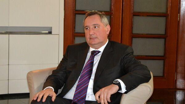 Potpredsednik Vlade Rusije Dmitrij Rogozin - Sputnik Srbija