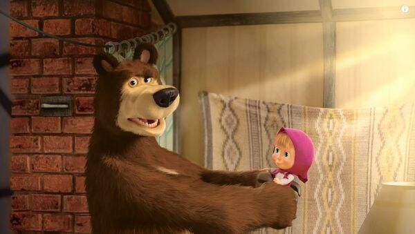 И Маша се мења од епизоде до епизоде, баш као и медвед - Sputnik Србија