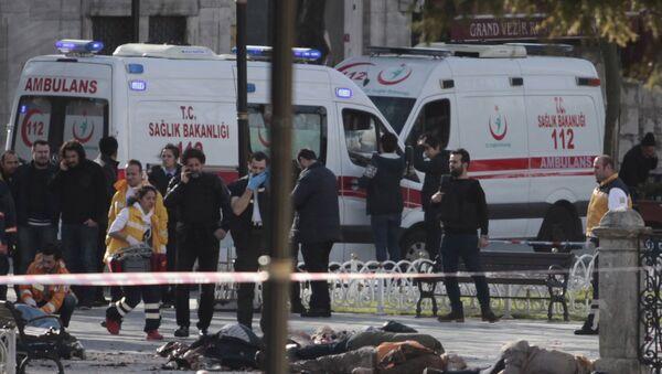 Терористички напад у Истанбулу 12.01.2016 - Sputnik Србија