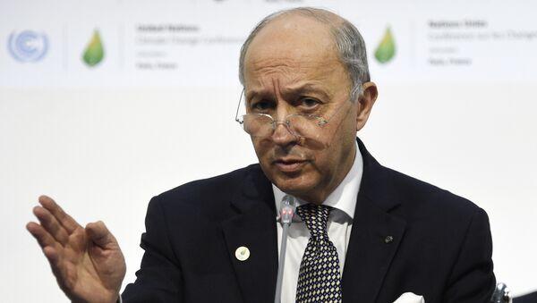 Министар спољних послова Француске Лоран Фабијус - Sputnik Србија