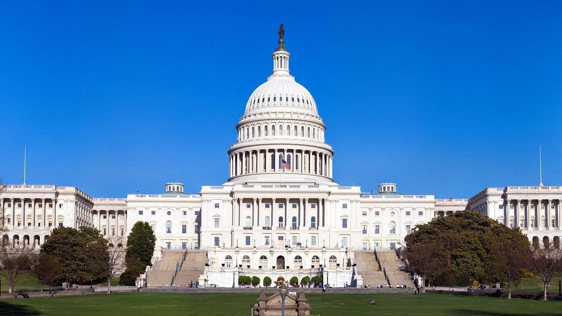 Kapitol, sedište Kongresa Sjedinjenih Američkih Država - Sputnik Srbija, 1920, 12.10.2021