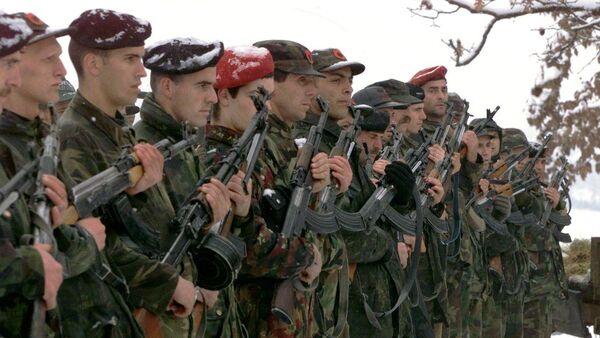 Pripadnici teroritičke organizacije OVK na Kosovu - Sputnik Srbija