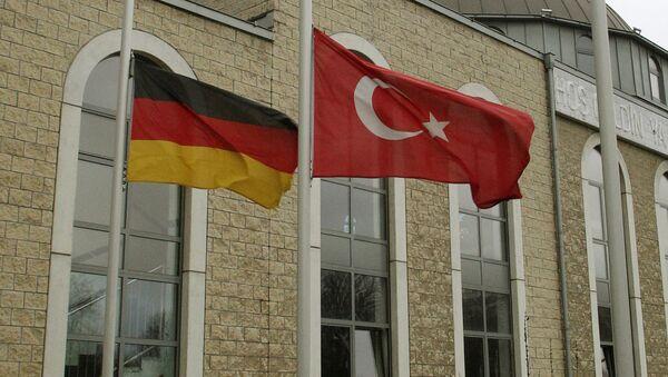 Zastave Nemačke i Turske - Sputnik Srbija
