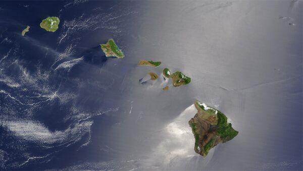 Хавајска оствра снимљена из сателита - Sputnik Србија