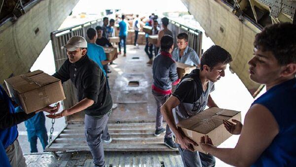 Русија упућује хуманитарну помоћ Сирији - Sputnik Србија