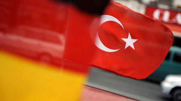 Zastava Nemačke i Turske - Sputnik Srbija
