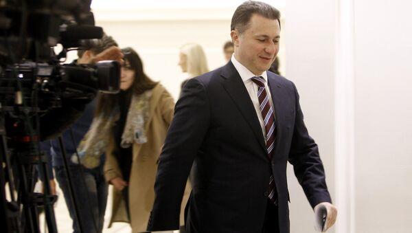 Никола Груевски - Sputnik Србија
