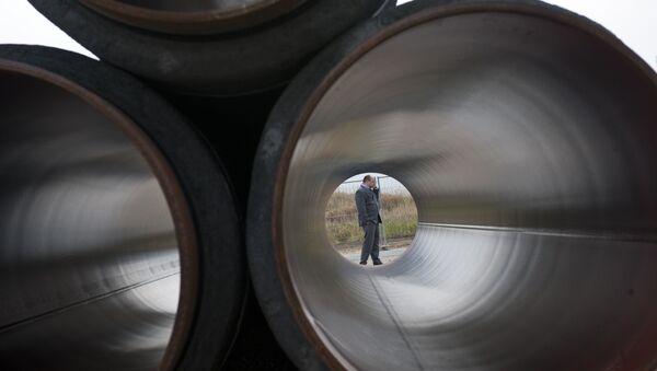 Cevi za gasovod Sverni tok - Sputnik Srbija