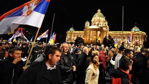 Predizborna kampanja u Srbiji - Sputnik Srbija